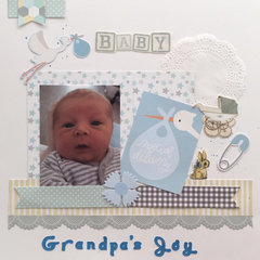 Grandfather's First Grandson, a Gift
