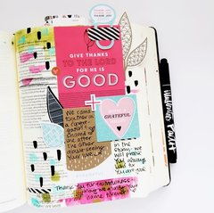 Gratitude Documented Bible Journaling