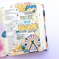 Delight in His Day bible journaling entry