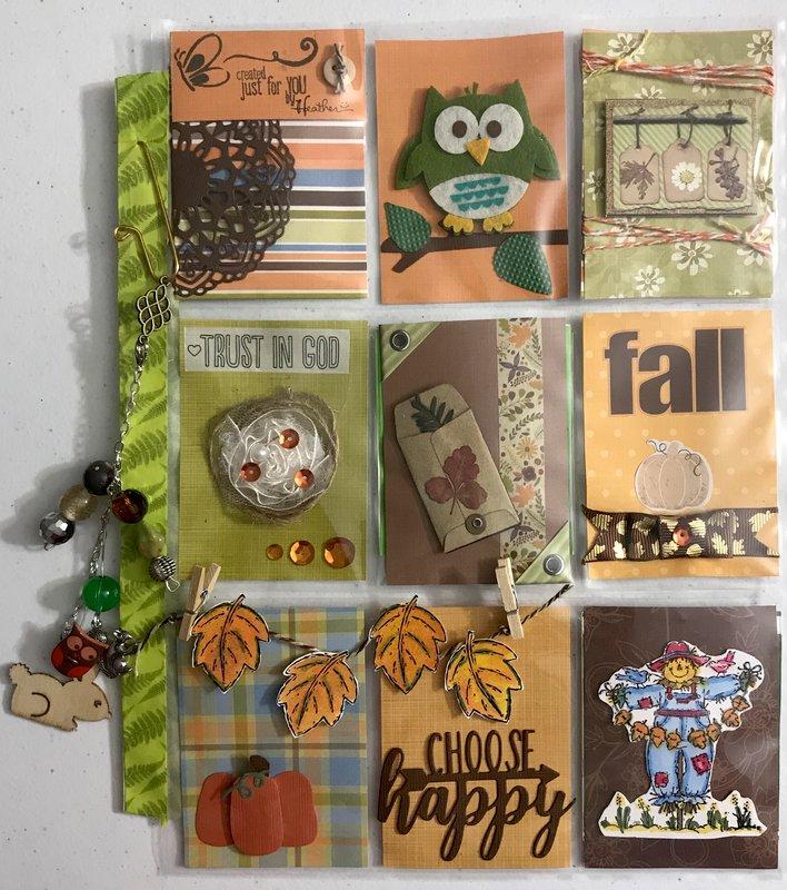 Fall Pocket Letter