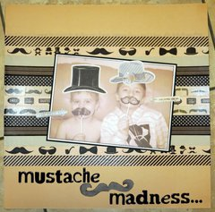 Mustache Madness….