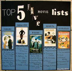 Top 5 Fave Movie Lists