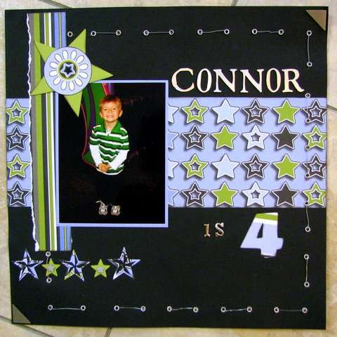 Connor is 4