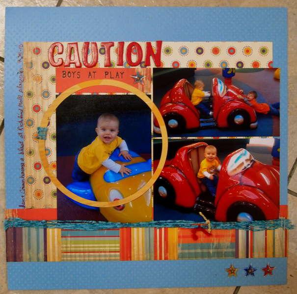 Caution:  Boys at Play (ian's album)