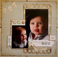 Ian - All Boy (I year portrait)