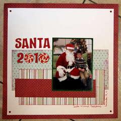 Santa 2010 - Connor