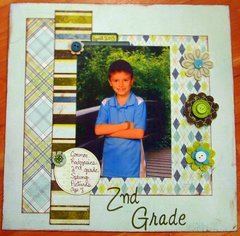 Connor's 2nd Grade Spring pic (school album)