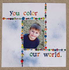 You color our world.