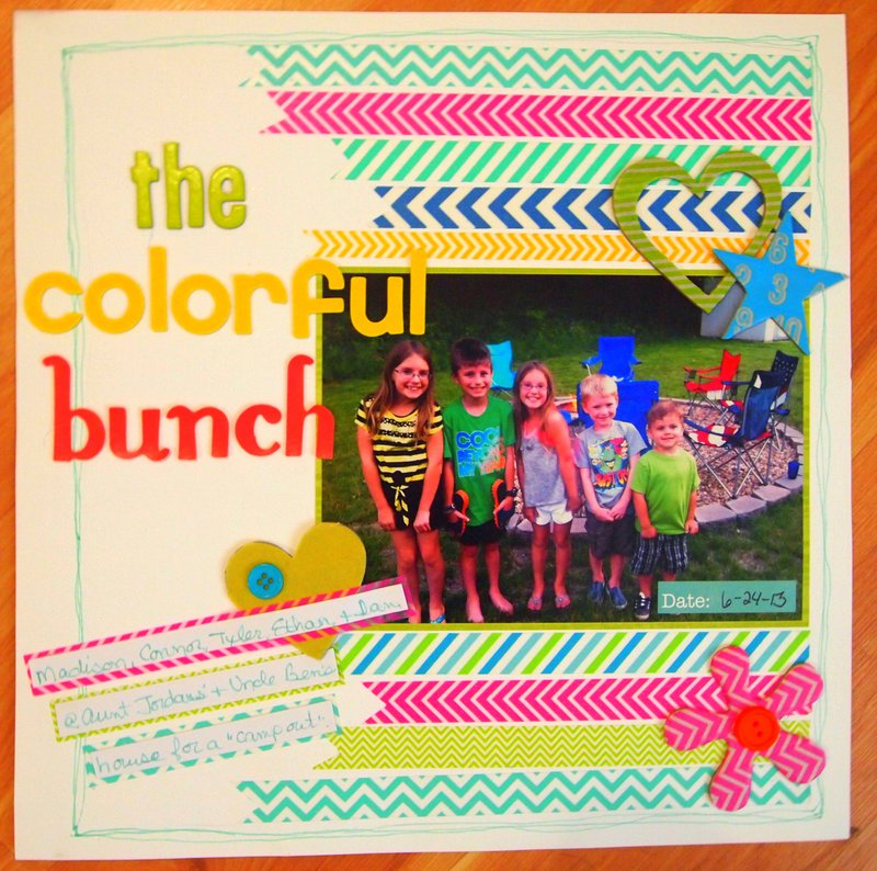 The Colorful Bunch