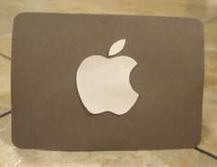 Apple computer card