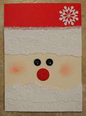 Santa Christmas card 2011