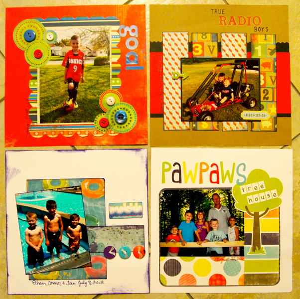 2013 Calendar May, June, July, Aug (G'ma)