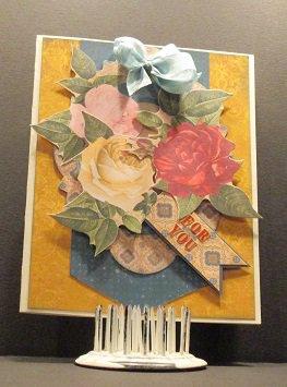 Bo Bunny Juliet Card
