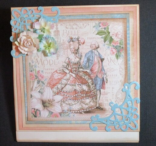 Gilded Lily Easel Card