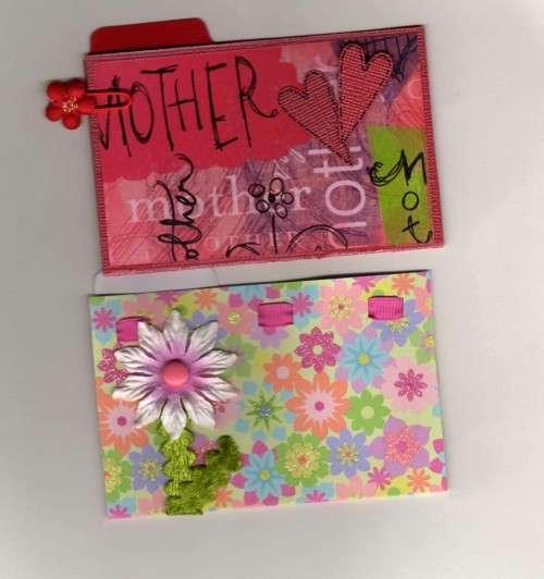 Mother's Day Mini Folders