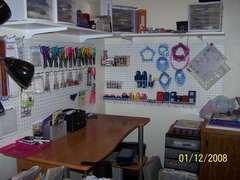 My Reorganized Scrapbook Room