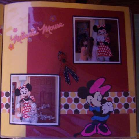 Meeting Minnie Mouse 2