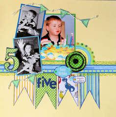 Logan's 5th Birthday