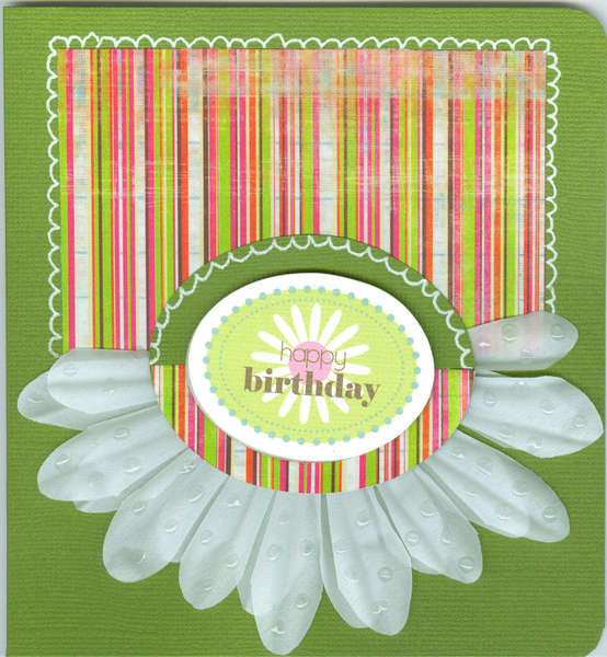 Secret Sister Birthday Card