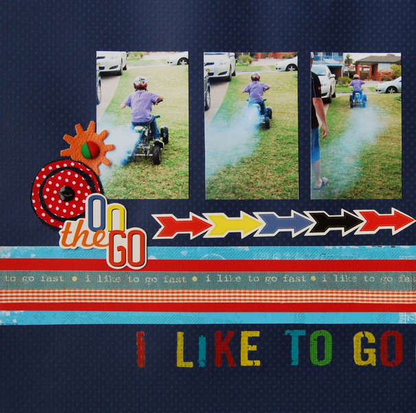 I Like To Go Fast Page 1