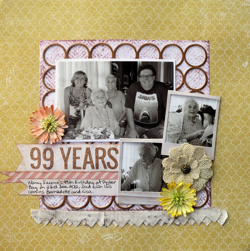 Nan's 99th Birthday Page1