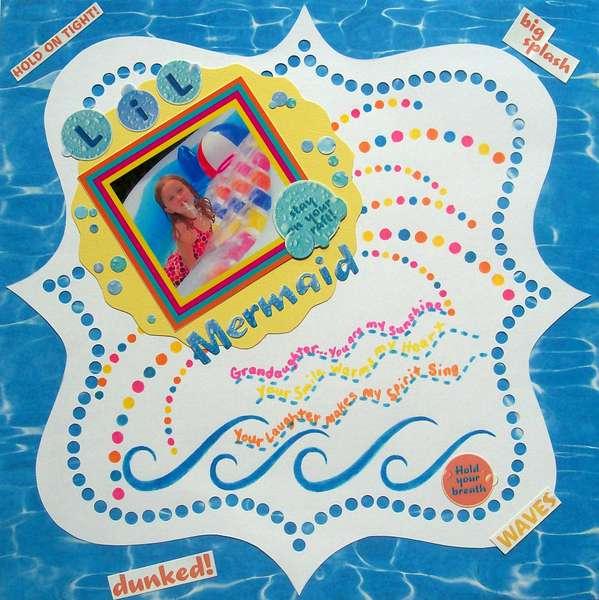 "Circle Challenge:  ""LiL Mermaid"""