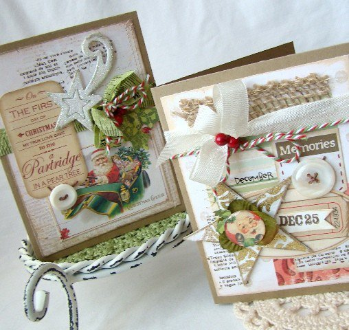 First day of Christmas card set