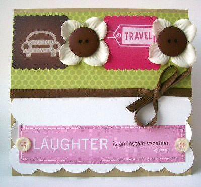 """CPS/CardMaker Magazine Card Design Contest """"Laughter is..."""""""