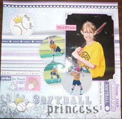 Softball Princess