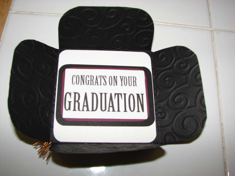 Inside of Graduation Cap