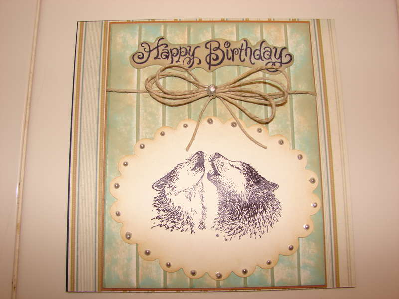 Wolves Birthday (Blue)