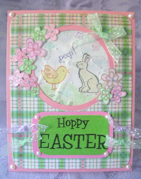 Easter Gel Card (Hair gel)