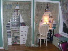 "My ""Revised"" Scraproom (closet)"