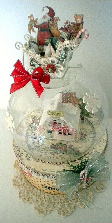 Santa's Workshop  *A Snow Globe*