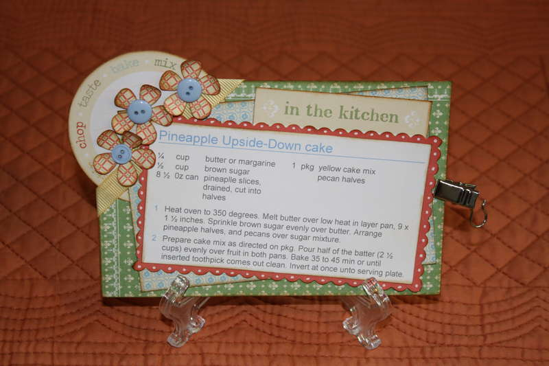 Recipe cards for the mini clip it up