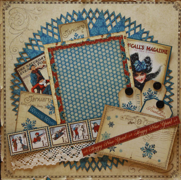 Swirlydoo's January Layout