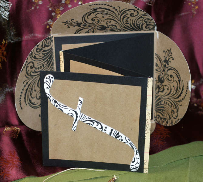 Worldwin Papers - Crafty Creations Petal Accordian Book
