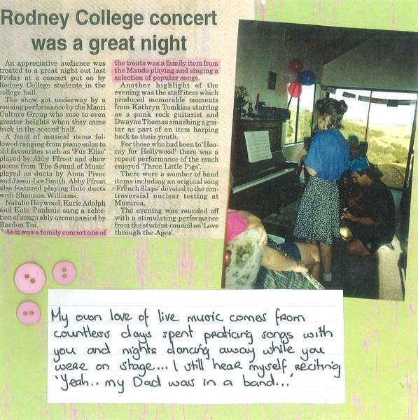 Dad's Scrapbook - Page 17 - Lyn Music