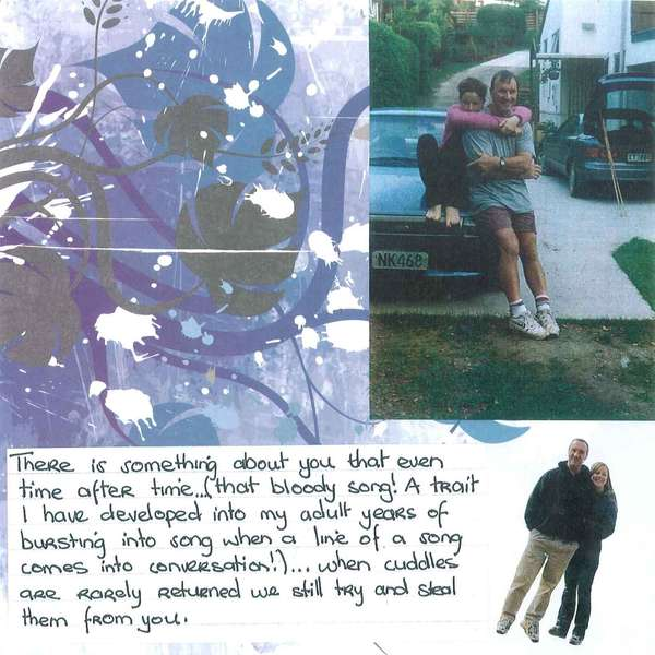 Dad's Scrapbook - Page 26 - Hugs From Lyn