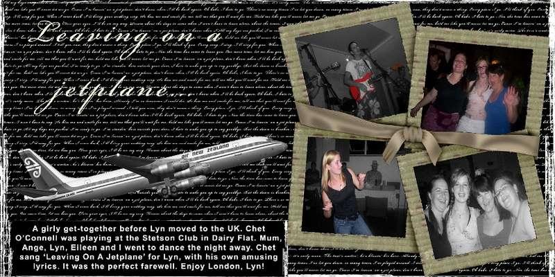 Leaving on a jetplane...