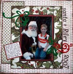 Santa & Riley 2007