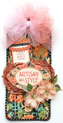 Graphic 45 Artisan Style tag