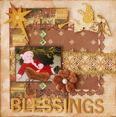 Blessings **Flying Unicorn** Dec kit - Sugarplum Dreams