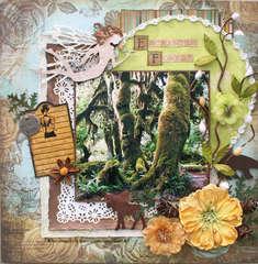 Enchanted Forest ** Flying Unicorn June KOM**
