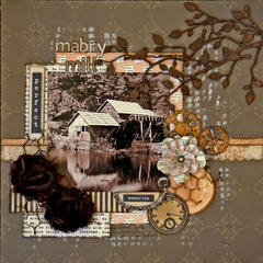 Mabry Mill**Flying Unicorn November kit**