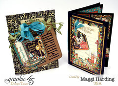 Card mini and tag envelope-Graphic 45 Enchanted Forest