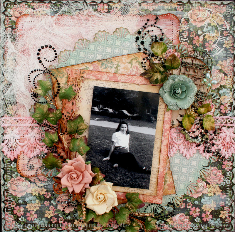 **Flying Unicorn** shabby chic challenge