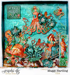 Octopus Garden**Graphic 45 DT project with Voyage Beneath the SEa
