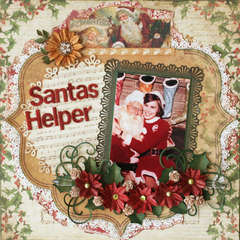 Santa's Helper **Flying Unicorn** Dec kit - Sugarplum Dreams