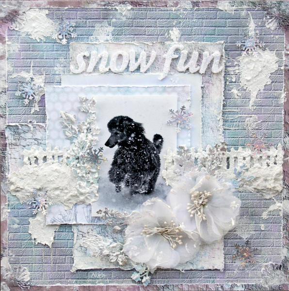 Snow fun**Flying Unicorn 13 ARts**